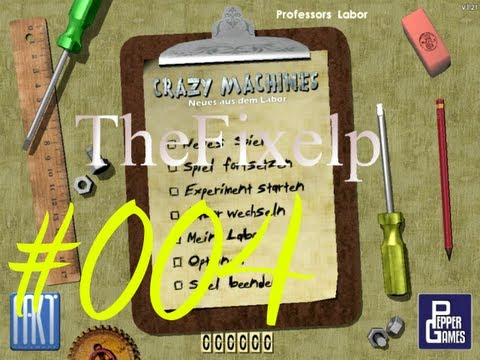 Let's Play Crazy Machines Gold Edition[Semi-Blind]: Neues aus dem Labor #004  
