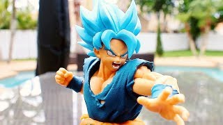 Banpresto Dragon Ball Super Ultimate Soldiers Blue Goku Figure