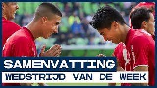 HIGHLIGHTS | Twente wint enerverende wedstrijd in Groningen