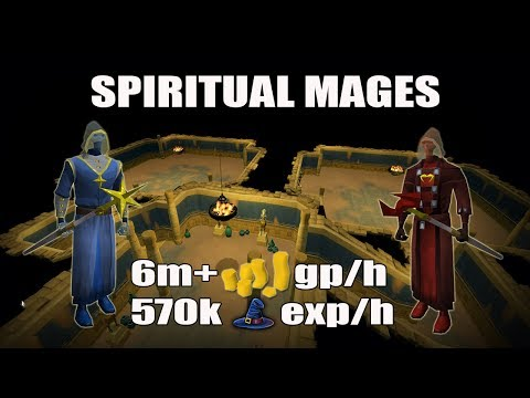 [Runescape 3] 1 Hour of Spiritual Mages 2017 | Personal Slayer Dungeon | 6M+ GP/H | 570k Magic exp/h