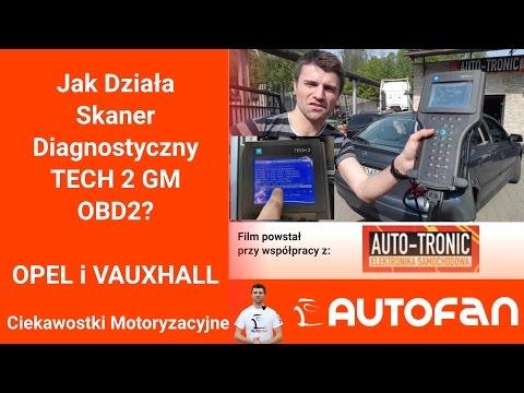 Jak Działa Skaner Diagnostyczny TECH 2 GM OBD2? Opel Vauxhall