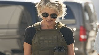 First Look At Linda Hamilton In New Terminator