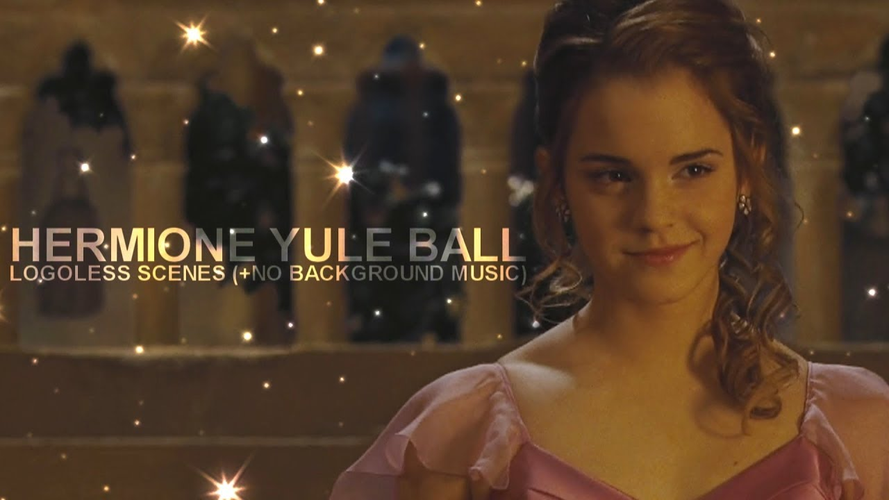 hermione granger yule ball scene