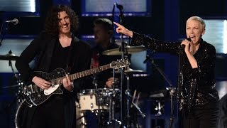 Video See Annie Lennox and Hozier Put a Spell on the Grammys download MP3, 3GP, MP4, WEBM, AVI, FLV Juli 2018