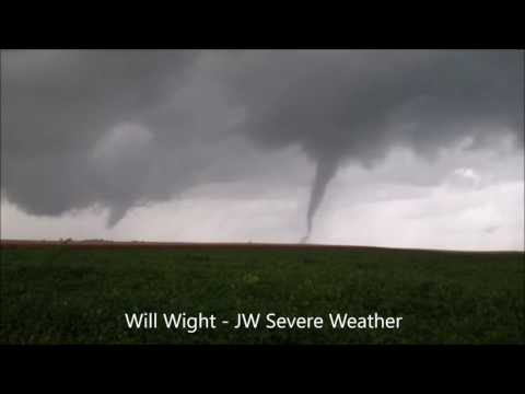 Central Illinois EF-2 Tornado South of Homer, IL September 9, 2016