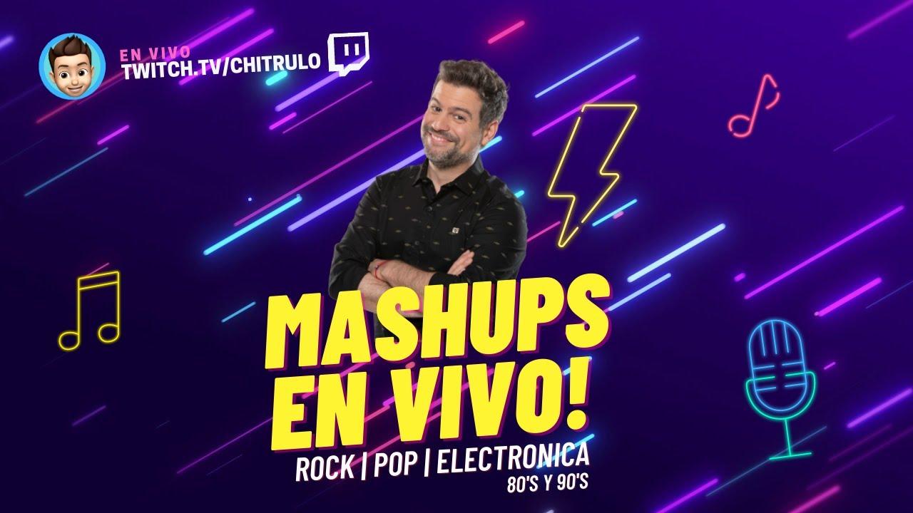 MASHARDOS EN VIVO 📀 ENGANCHADOS ⚡️ MASHUPS POP ROCK ELECTRONICO