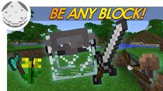 Minecraft Redstone PROP HUNT IN VANILLA MINECRAFT! BE ANY BLOCK! (Minecraft 1.8 )