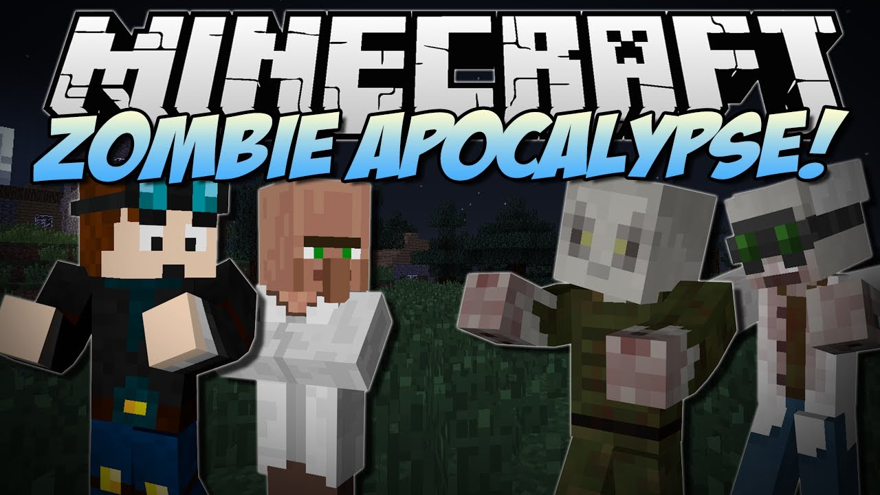 minecraft zombie apocalypse will you survive mod showcase