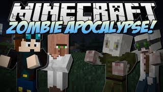 Minecraft | ZOMBIE APOCALYPSE! (Will You Survive?!) | Mod Showcase [1.6.4]