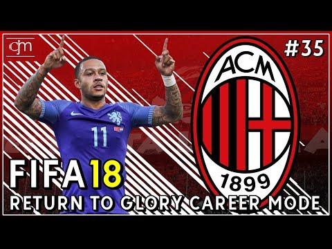 FIFA 18 AC Milan Career Mode: Tiga Pertandingan Krusial Serie A Penentu Scudetto #35