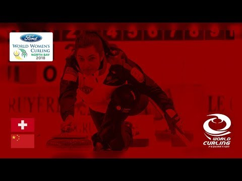 Switzerland v China - Round-robin - Ford World Women's Curling Championships 2018