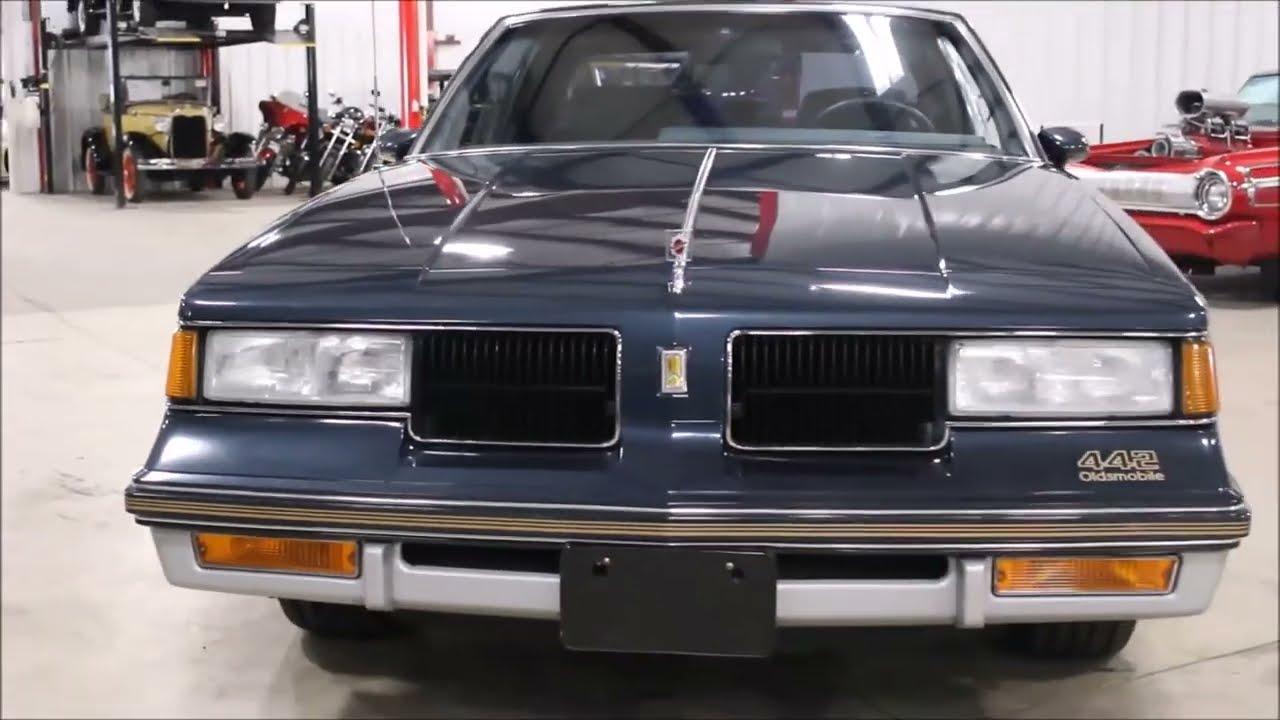 1987 Olds 442 Blue