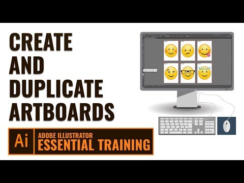 Adobe Illustrator Essential Training | How to Create and Duplicate Artboards in Urdu / Hindi thumbnail