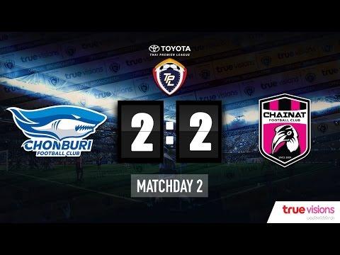 Highlight TPL 2015 - Chonburi FC 2-2 Chainat Hornbill