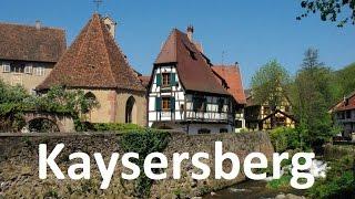 Kaysersberg, village préféré des Français 2017