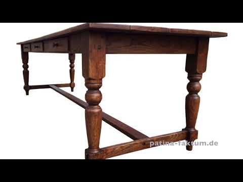 Patina Faktum, Möbelmanufaktur - Tische mit antikem Charakter