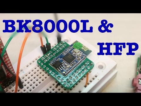 BK8000L Bluetooth module HFP test