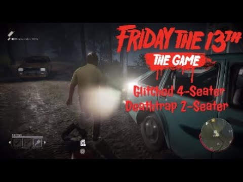 Glitched 4-Seater, Deathtrap 2-Seater- Friday The 13th: The Game |