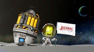 Kerbal Space Program: Making History -  Симулятор Илона маска! ОБНОВЛЕНИЕ!