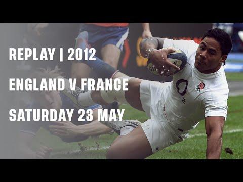 Replay | England V France 2012