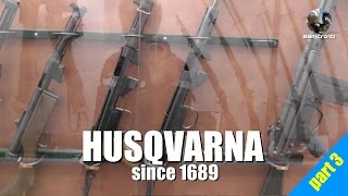 Husqvarna Industrial Museum: From Weapons to Robots
