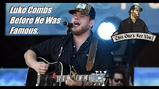 Download Luke Combs Before He Was Famous! Mp3 and Videos