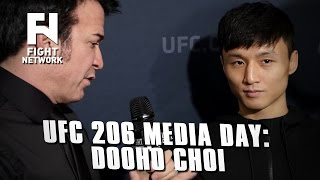 UFC 206: Dooho Choi on Studying Opponents, Mental Preparation and More