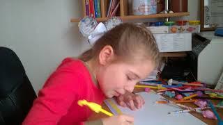 Рисую в день учителя