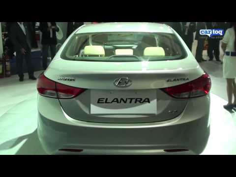 Hyundai Elantra Video Review by CarToq.com from Auto Expo 2012 Delhi Live!
