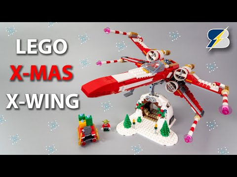 LEGO Star Wars Christmas X-wing! Employee gift set 2019 detailed review 4002019