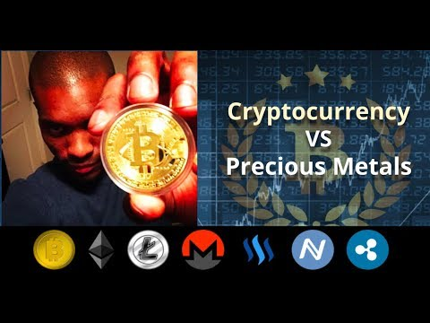 Cryptocurrency vs Precious Metals For Investing | Gold or Bitcoin?