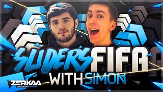 THE SLOWEST GAME EVER? | REVERSE SLIDERS FIFA 16 WITH SIMON
