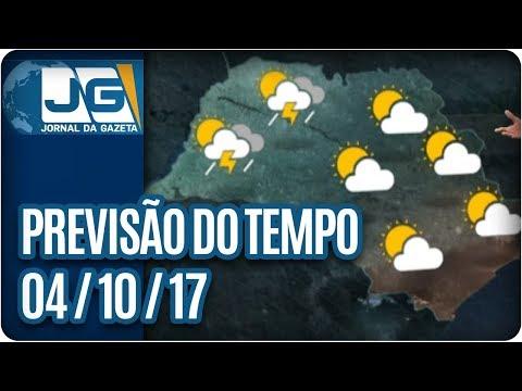 Previsão do Tempo - 04/10/2017