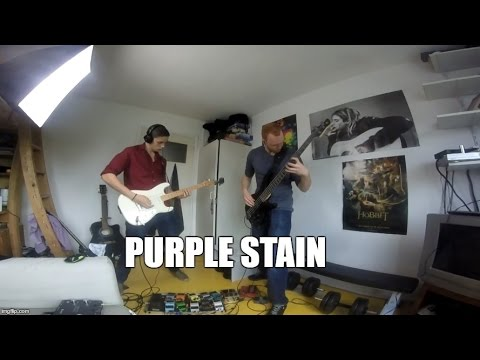 Purple Stain - Red Hot Chili Peppers (Guitar cover & Bass cover)