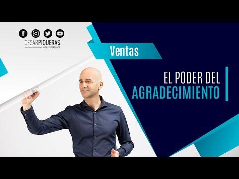 El Poder Del Agradecimiento | Ventas | César Piqueras