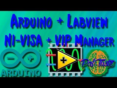Como Instalar Arduino en labview (NIVISA / VI PACKAGE MANAGER) - PalTuste