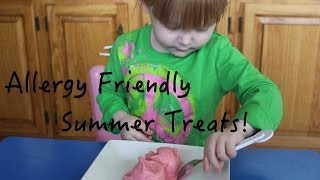 Summer Treats! Toddler & Allergy Friendly! Free of Top 8 Allergens! Thumbnail