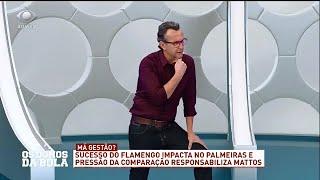 Neto compara contratações de Flamengo e Palmeiras