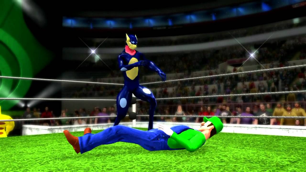WWE Super Smash Bros. for 3DS/Wii U 3rd 『CAW』