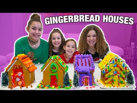 GINGERBREAD HOUSE DECORATING CHALLENGE from YouTube · Duration:  4 minutes 30 seconds