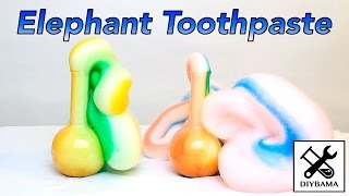 Funny Elephant Toothpaste (Chemical Reaction) thumbnail