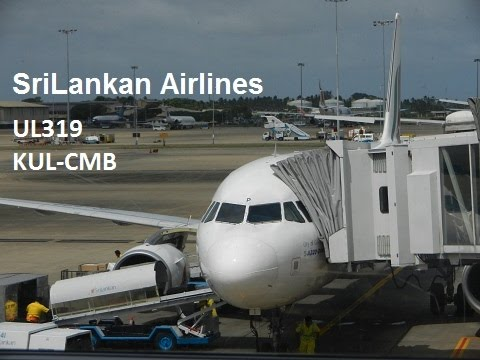 SriLankan Airlines | Kuala Lumpur to Colombo | Airbus A320-200 (UL319 | 4R-ABP)