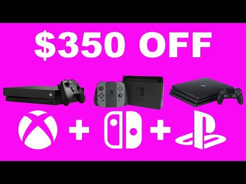 Best Black Friday Deals on Xbox One, PS4, and Nintendo Switch
