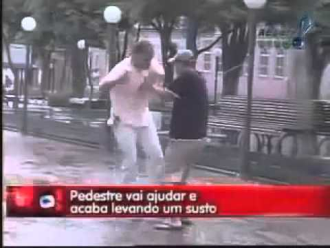 Electric Shock Prank in Brazil