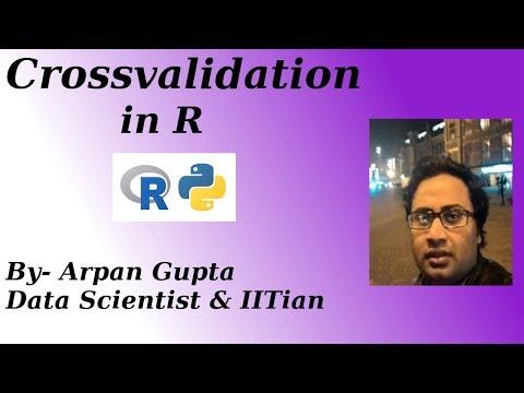 Cross Validation in R