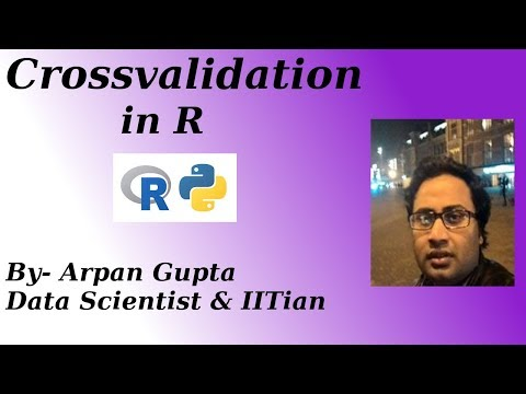 Cross Validation in R