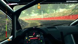 WRC 3 PC - Wales Rally GB Stage Gameplay