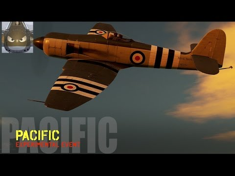 War Thunder - War In The Pacific - Sea Fury