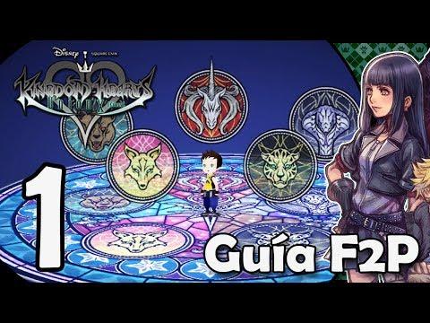 Kingdom Hearts Union X Cross - Guía F2P Español parte 1