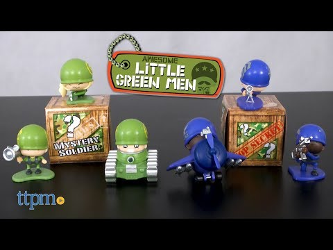 Awesome Little Green Men Sharpshooters & Marksmen Squad from MGA Entertainment